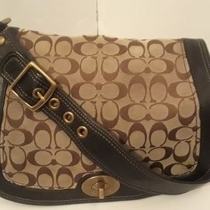 COACH Canvas Handbag